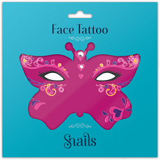 Face Tattoo-Queen Of Hearts Small size