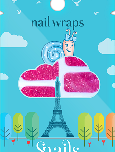 Nail Wrap-Red Carpet small size