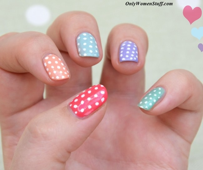 The coolest nail designs for kids, easy to make at home.